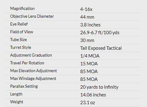 مشخصات فنی 4-16-44